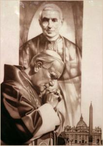 giovanni paolo II e il beato giovanni battista scalabrini