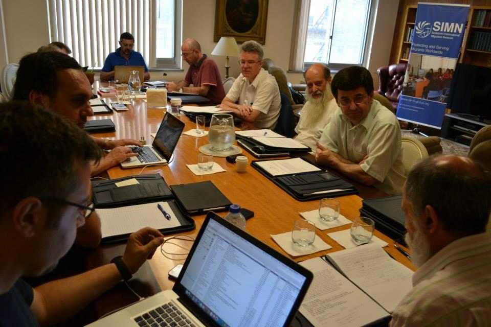 La Direzione generale dei missionari scalabriniani ha convocato dal 21 al 23 luglio 2015 a New York i rappresentanti delle varie aree di servizio della congregazione per la definizione di un programma comune