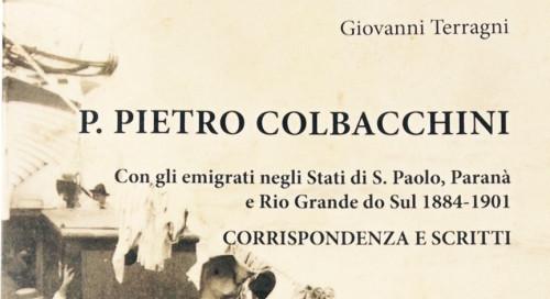 La copertina del libro su padre Colbacchini