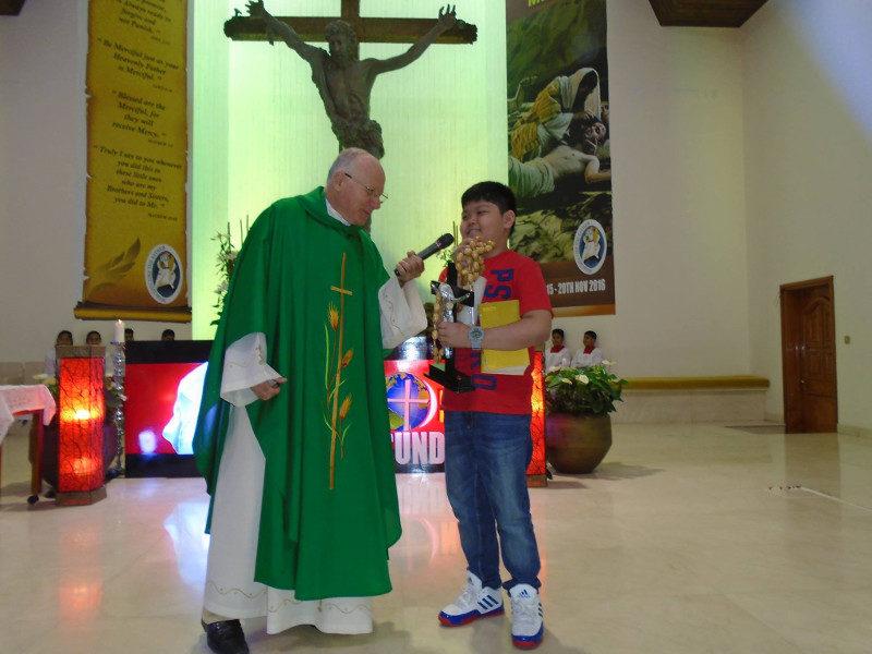 Giornata missionaria mondiale 2016 a Dubai (dove c'è padre Olmes Milani)