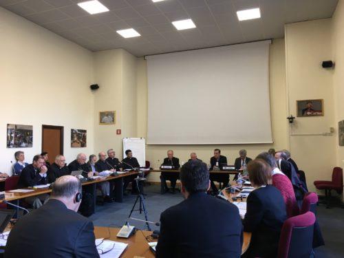 Missionari scalabriniani al preforum di Roma