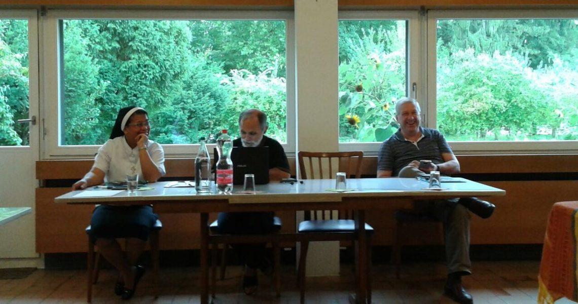 Incontro annuale dei tre istituti della Famiglia scalabriniana