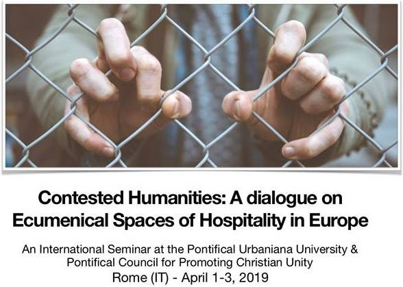 Contested Humanities: A dialogue on Ecumenical Spaces of Hospitality in Europe