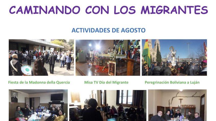 La migrazione boliviana in Argentina In occasione della Giornata mondiale del migrante e del rifugiato del prossimo 29 settembre 2019, alcuni dati dalla parrocchia scalabriniana Nuestra Señora Madre de los Emigrantes a Buenos Aires