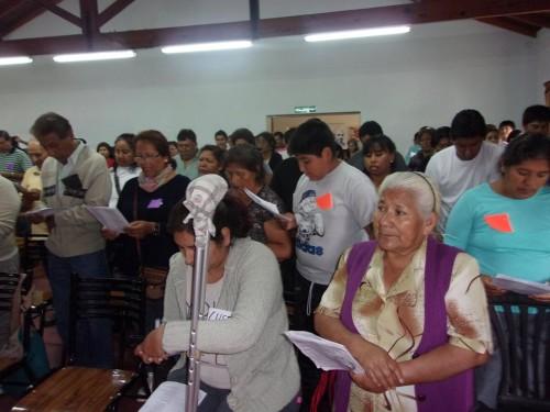 Buenos Aires, assemblea della comunità boliviana