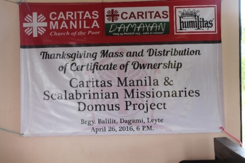 La solidarietà scalabriniana riporta la speranza nelle Filippine dopo il tifone