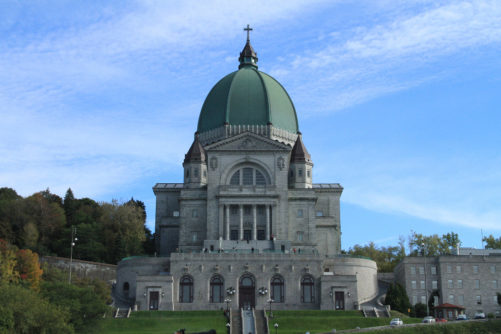 L'Oratoire Saint-Joseph du Mont-Royal a Montreal dove è stata celebrata la Messa dei lavoratori stagionali