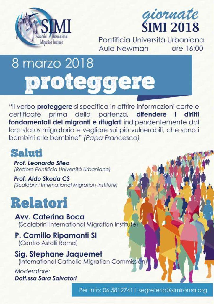 """Giornate SIMI 2018: l'8 marzo il tema sarà """"Proteggere"""""""