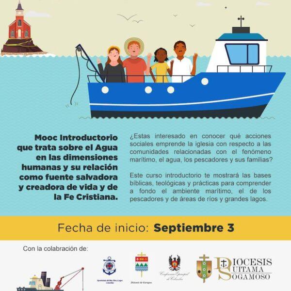 La Pontificia Universidad Javeriana ha realizzato un corso online per l'Apostleship of the Sea